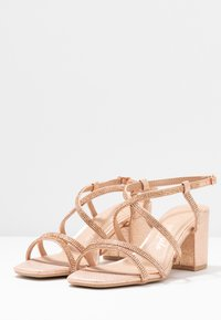 New Look Wide Fit - WIDE FIT TACHING - Sandalias - rose gold - 2