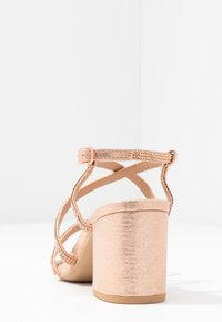 New Look Wide Fit - WIDE FIT TACHING - Sandalias - rose gold - 4