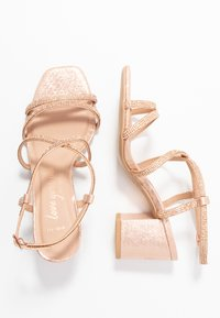 New Look Wide Fit - WIDE FIT TACHING - Sandalias - rose gold - 3
