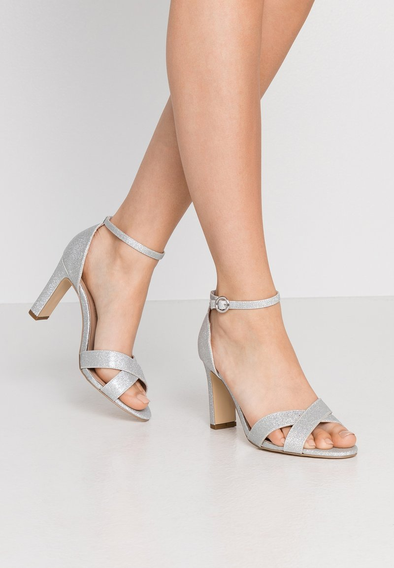 New Look Wide Fit - High heeled sandals - silver