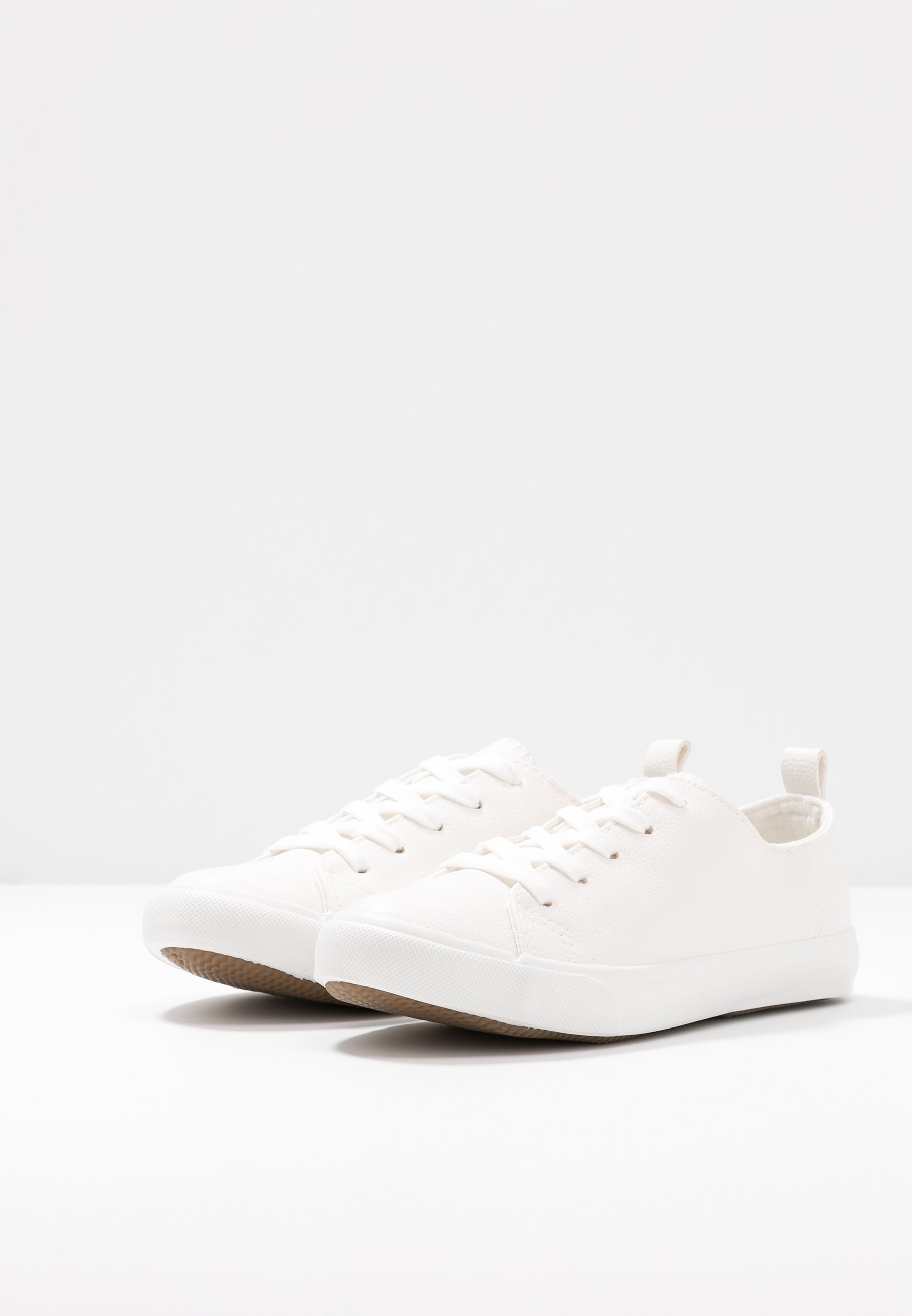 New Look Wide Fit WIDE FIT MOGUEL - Sneakersy niskie - white