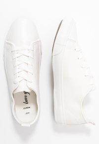 New Look Wide Fit - WIDE FIT MOGUEL - Joggesko - white - 3
