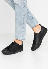 New Look Wide Fit - WIDE FIT MOGUEL - Sneakers laag - black - 0