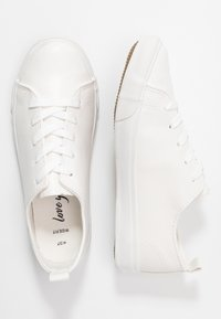 New Look Wide Fit - MOGUEL - Trainers - white - 3