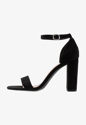 WIDE FIT VARONA - High Heel Sandalette - black