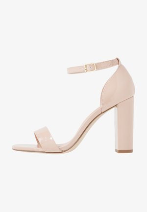 WIDE FIT VARONA - High heeled sandals - oatmeal