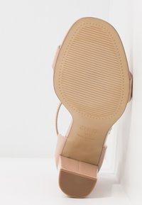 New Look Wide Fit - WIDE FIT VARONA - Sandaler med høye hæler - oatmeal - 6