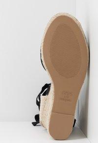 New Look Wide Fit - WIDE FIT TRINIDAD - Sandály na vysokém podpatku - black - 6