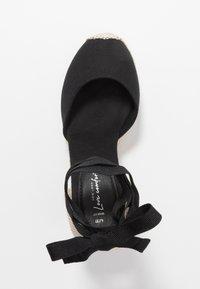 New Look Wide Fit - WIDE FIT TRINIDAD - Sandály na vysokém podpatku - black - 3