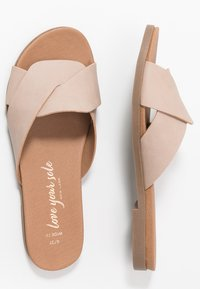 New Look Wide Fit - WIDE FIT HOLLIE COMFY FOOTBED MULE - Pantofle - oatmeal - 3