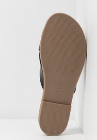 New Look Wide Fit - WIDE FIT HOLLIE COMFY FOOTBED MULE - Matalakantaiset pistokkaat - black - 6