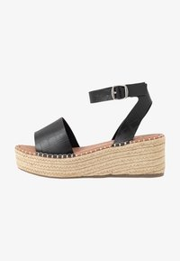 New Look Wide Fit - WIDE FIT POPPINS - Espadrilky - black - 1