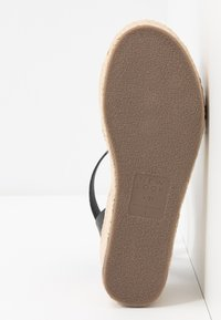 New Look Wide Fit - WIDE FIT POPPINS - Espadrilky - black - 6
