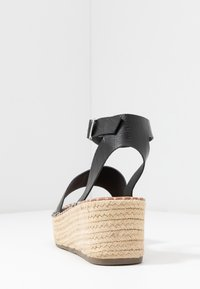New Look Wide Fit - WIDE FIT POPPINS - Espadrilky - black - 5