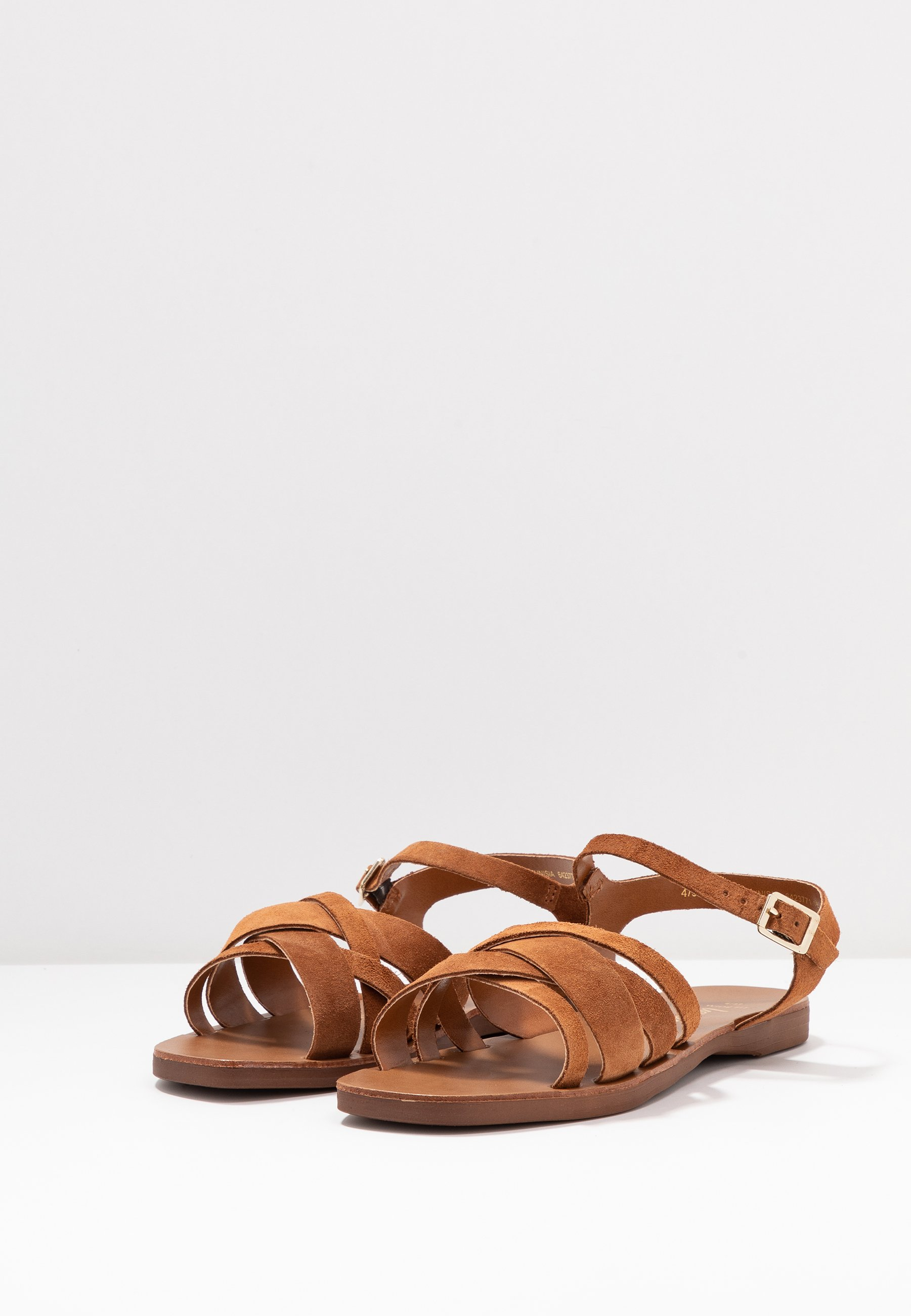 WIDE FIT GEANETTE Sandaler tan