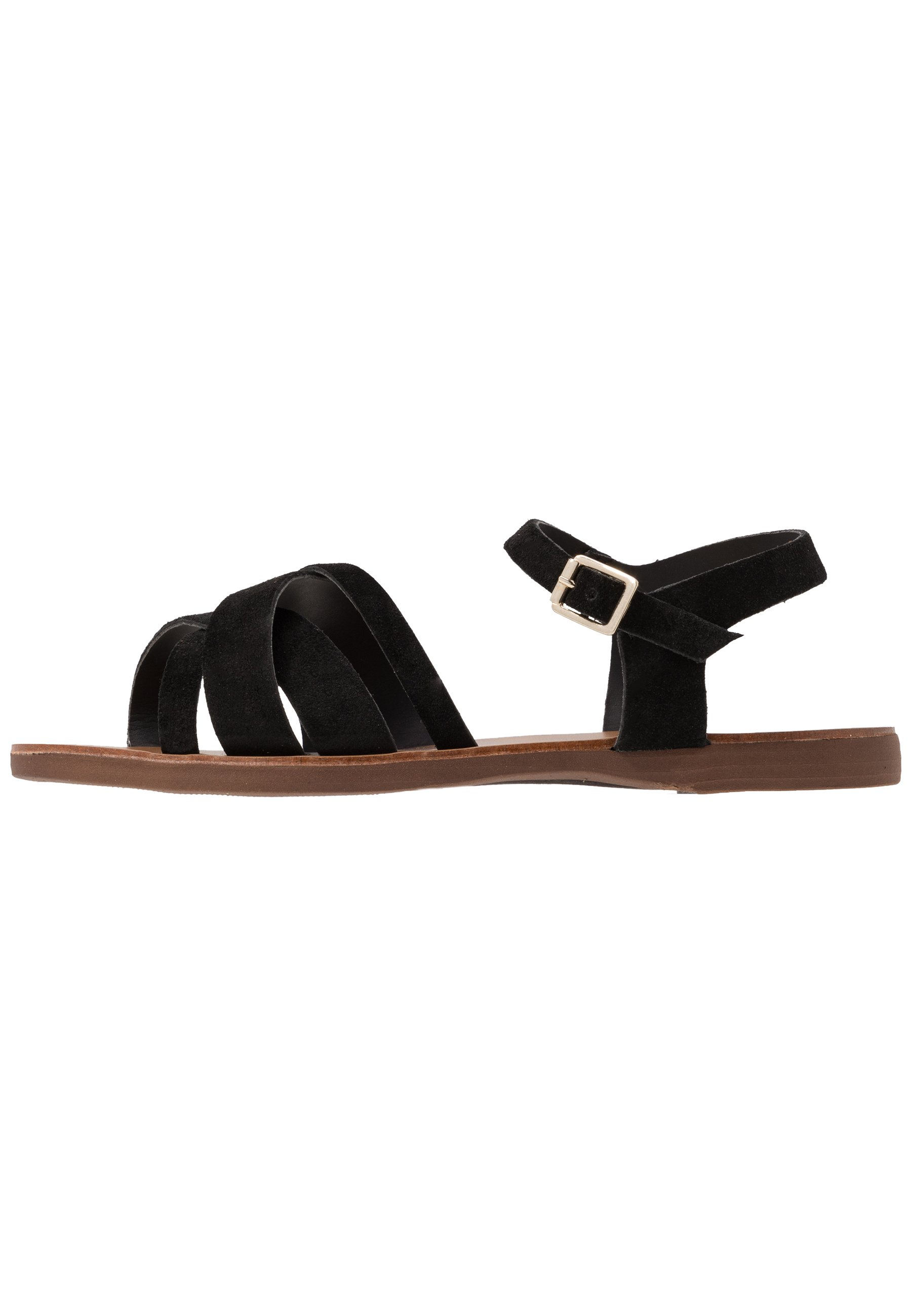 WIDE FIT GEANETTE Sandaler black