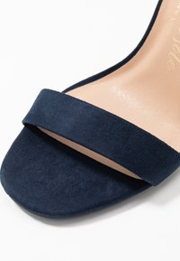 New Look Wide Fit - WIDE FIT VARONA - Sandalias de tacón - dark blue - 2