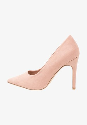 WIDE FIT SCOOP - High heels - oatmeal
