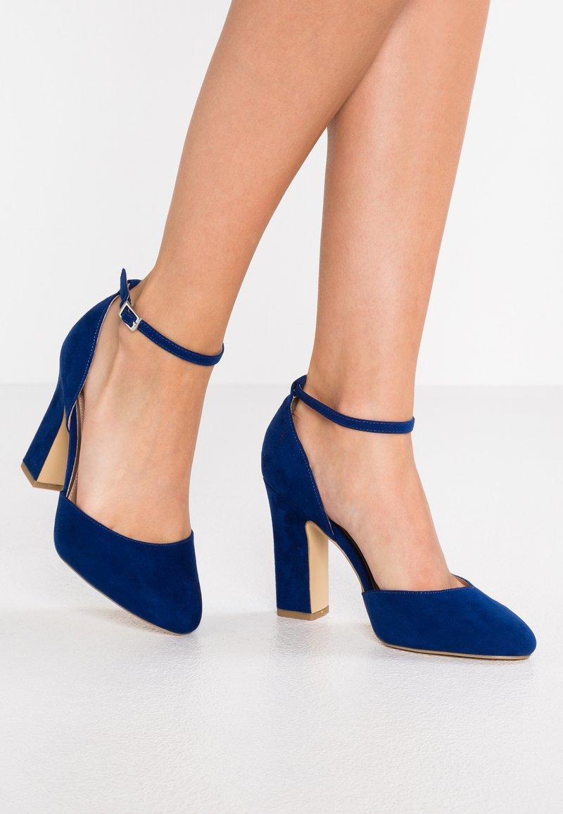 New Look Wide Fit - WIDE FIT RACHEL - Escarpins à talons hauts - bright blue