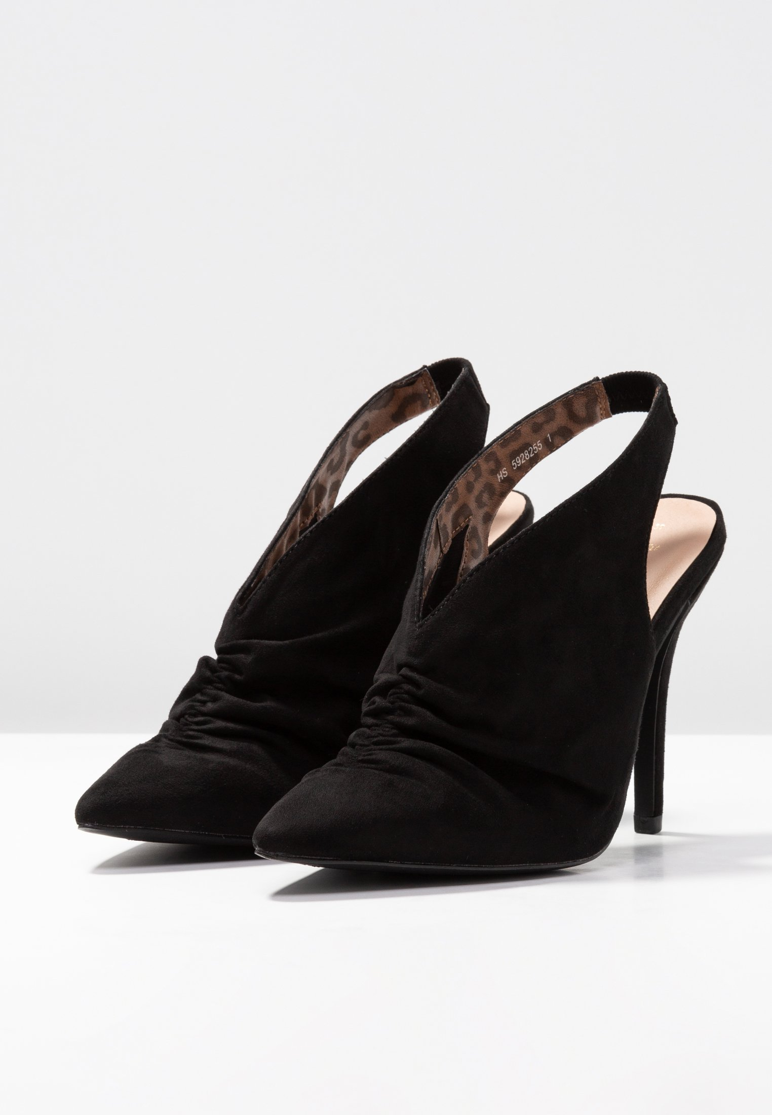 SelenaEscarpins Look À New Wide Fit Hauts Talons Black HIE92WD