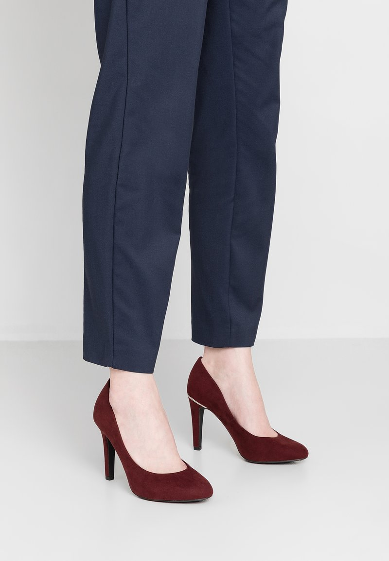 New Look Wide Fit - WIDE FIT SHARON - High heels - dark red
