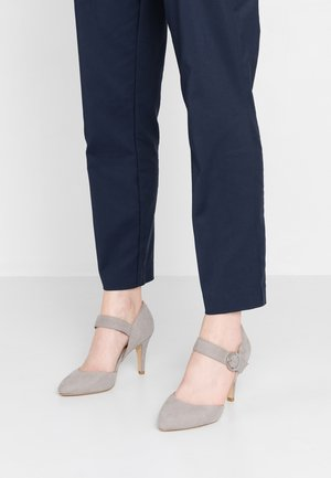 WIDE FIT RUCKY - Decolleté - mid grey