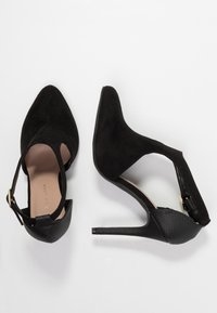 New Look Wide Fit - WIDE FIT REQUILA - Lodičky na vysokém podpatku - black - 3
