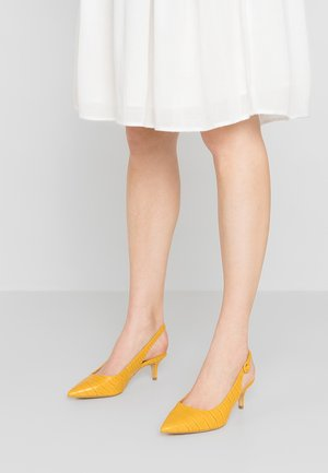 WIDE FIT ROCK - Pumps - bright yellow