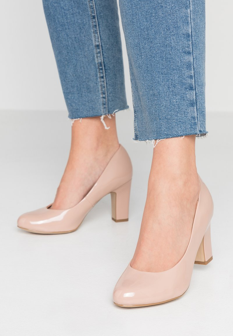 New Look Wide Fit - WIDE FIT RITA - Pumps - oatmeal