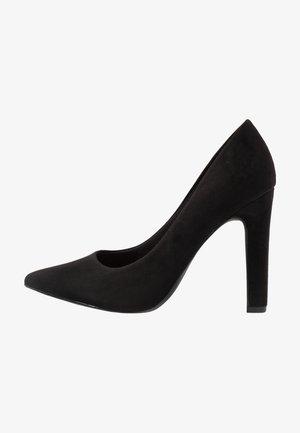 WIDE FIT SQUARE  - High heels - black
