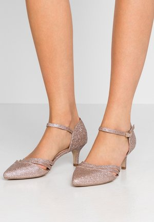 WIDE FIT SUAVE - Classic heels - rose gold