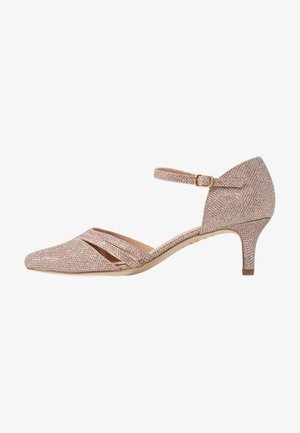 WIDE FIT SUAVE - Klassiske pumps - rose gold