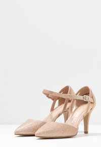 New Look Wide Fit - WIDE FIT SPARKLE - Classic heels - rose gold - 4