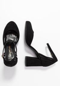 New Look Wide Fit - WIDE FIT SHARP - Høye hæler - black - 3
