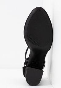 New Look Wide Fit - WIDE FIT SHARP - Høye hæler - black - 6