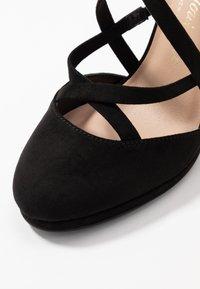 New Look Wide Fit - ZIGS - Zapatos altos - black - 2