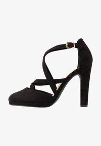 New Look Wide Fit - ZIGS - Zapatos altos - black - 1