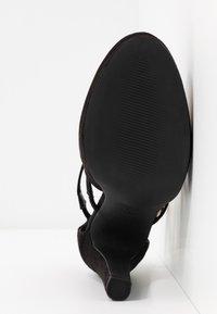 New Look Wide Fit - ZIGS - Zapatos altos - black - 6