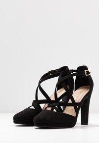 New Look Wide Fit - ZIGS - Zapatos altos - black - 4