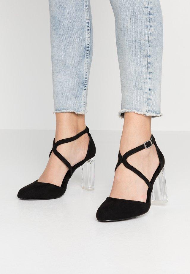 WIDE FIT SLENDER - High heels - black