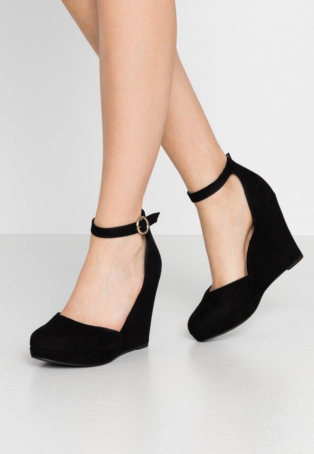 WIDE FIT YEDGE - High heels - black