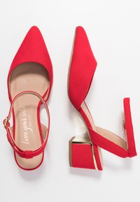 New Look Wide Fit - WIDE FIT  - Decolleté - bright red - 2