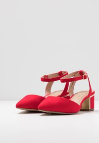 New Look Wide Fit - WIDE FIT  - Decolleté - bright red - 3