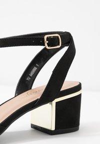 New Look Wide Fit - WIDE FIT  - Decolleté - black - 2