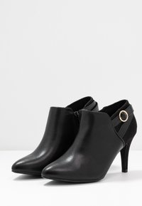 New Look Wide Fit - WIDE FIT T SMART - Ankelboots - black - 4