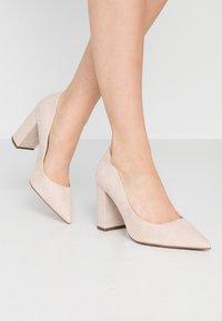 New Look Wide Fit - WIDE FIT STRIKE - High heels - oatmeal - 0