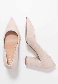 New Look Wide Fit - WIDE FIT STRIKE - High heels - oatmeal - 3