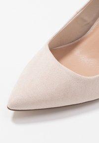 New Look Wide Fit - WIDE FIT STRIKE - High heels - oatmeal - 2