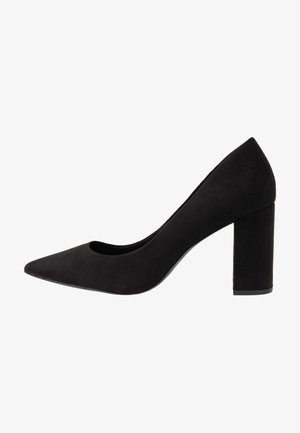 WIDE FIT STRIKE - Højhælede pumps - black