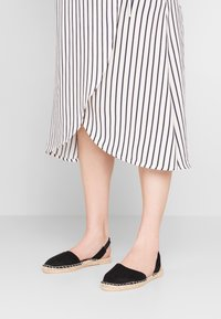 New Look Wide Fit - WIDE FIT MILLIE - Espadrilles - black - 0